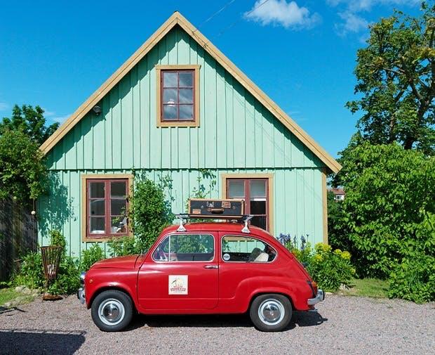 Blandet husets originalfarge