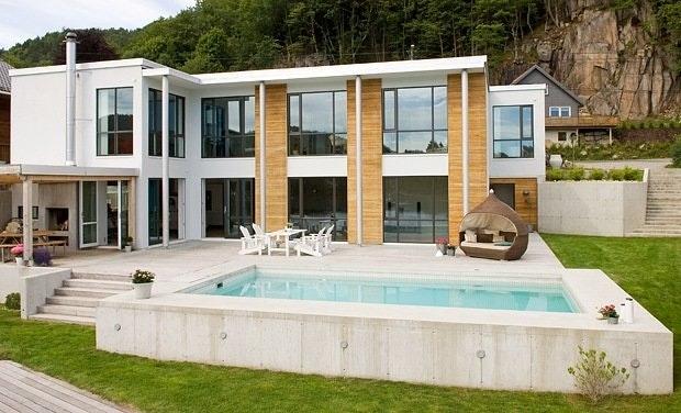 Arkitekttegnet bolig