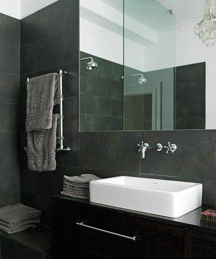 Enkel fornyelse til badet