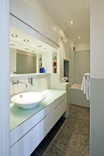 Mosaikkfliser på badet