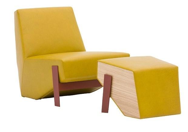 Kvadratisk og kul stol