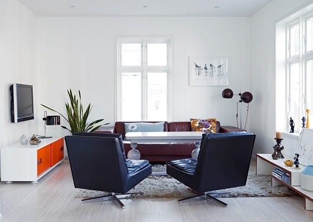 Stue med stilmiks