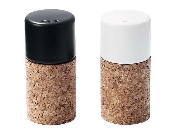 Salt og pepper i kork