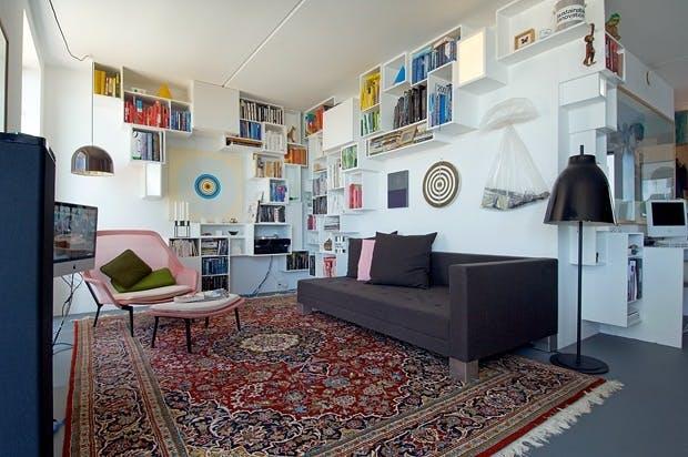 Kunstnerisk stue