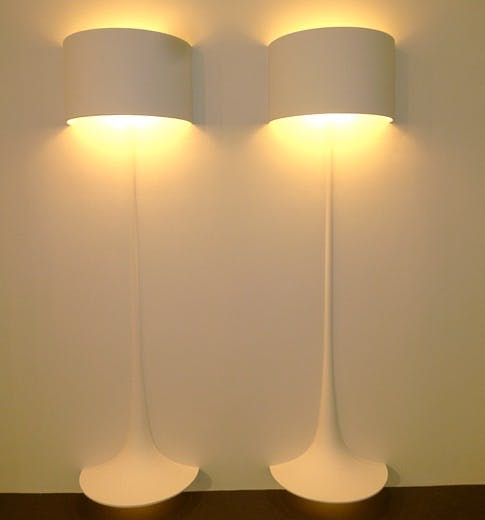 Illusjon av lamper