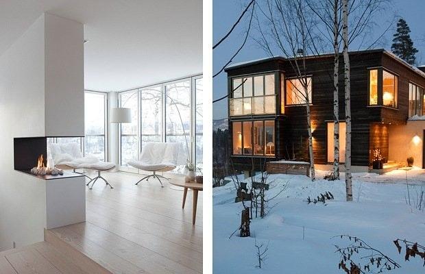 Moderne, arkitektegnet enebolig
