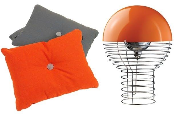 Oransje trendfarge