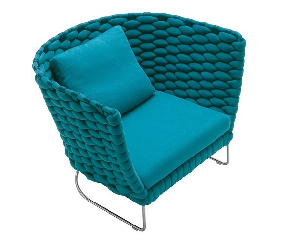 Strikket stol