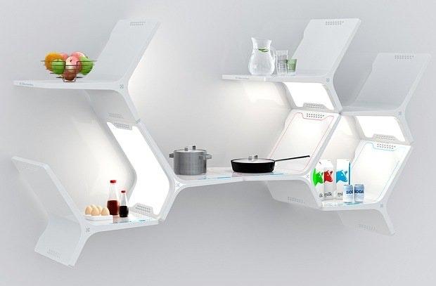 Framtidas modulkjøkken