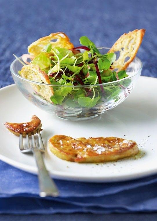 Stekt foie gras