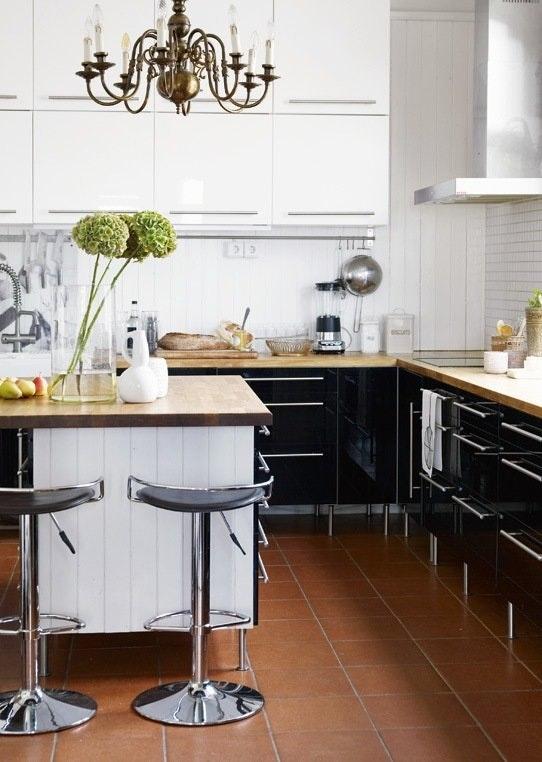 Kjøkkeninnredningen med
