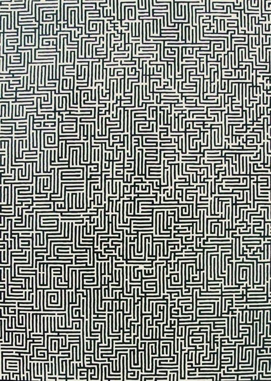 Tidsfordrivende mønster.