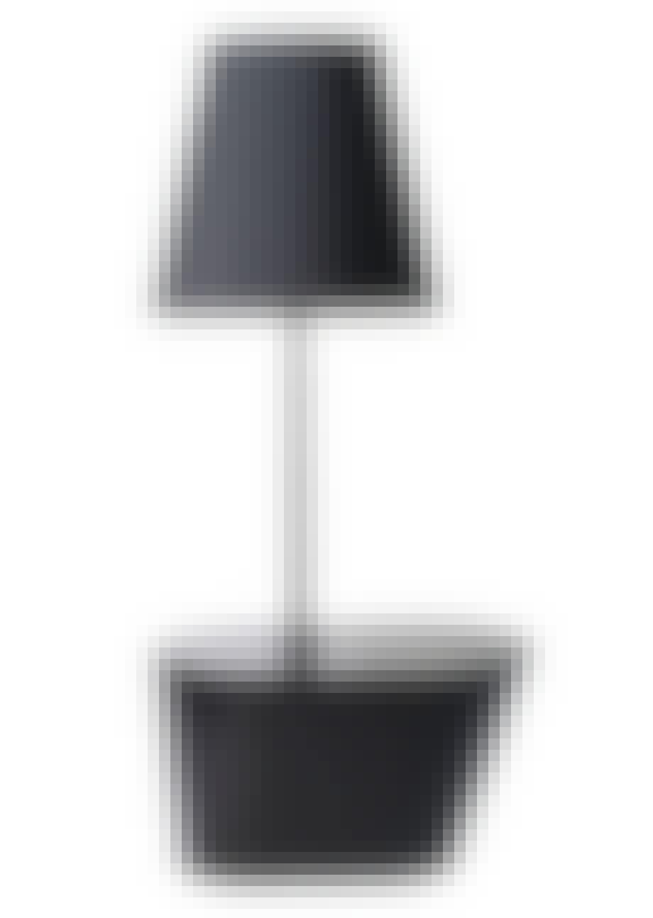 Lampe og bord i ett,