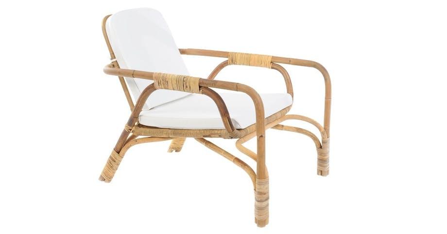 Loungestol i bambus