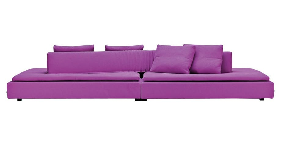 En spennende sofa