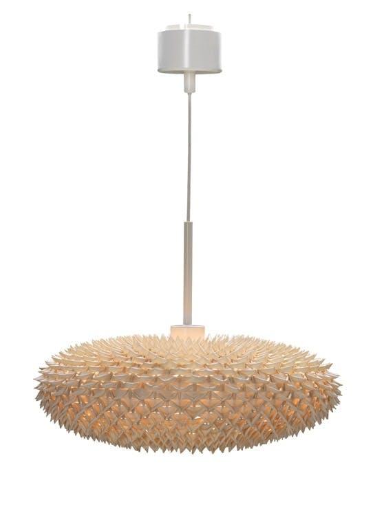 Lampen av palmeblader