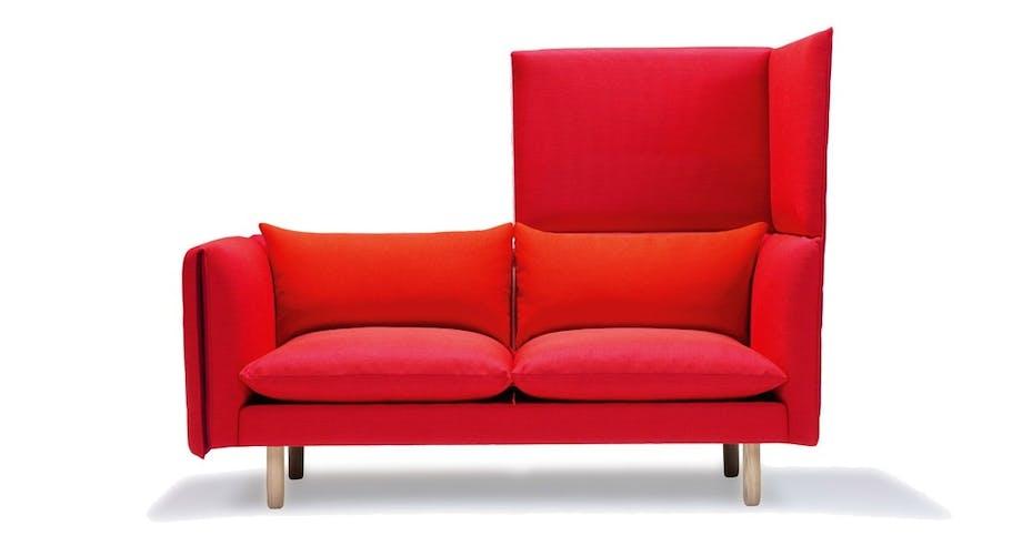 Sofa med krage