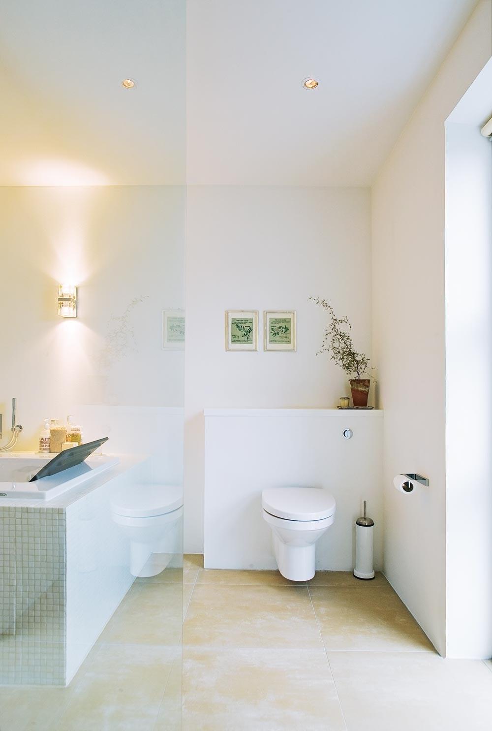Over det vegghengte toalettet