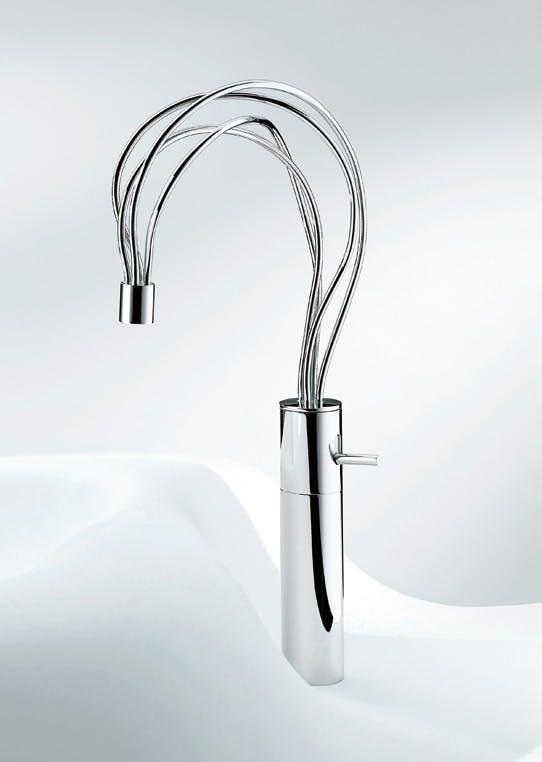 Kunstnerisk håndvaskarmatur