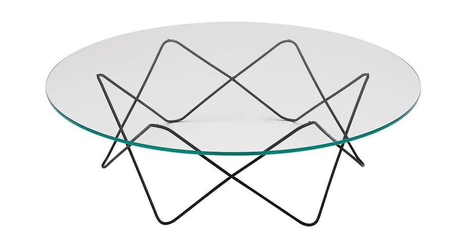 Glassbordet Hertz Table