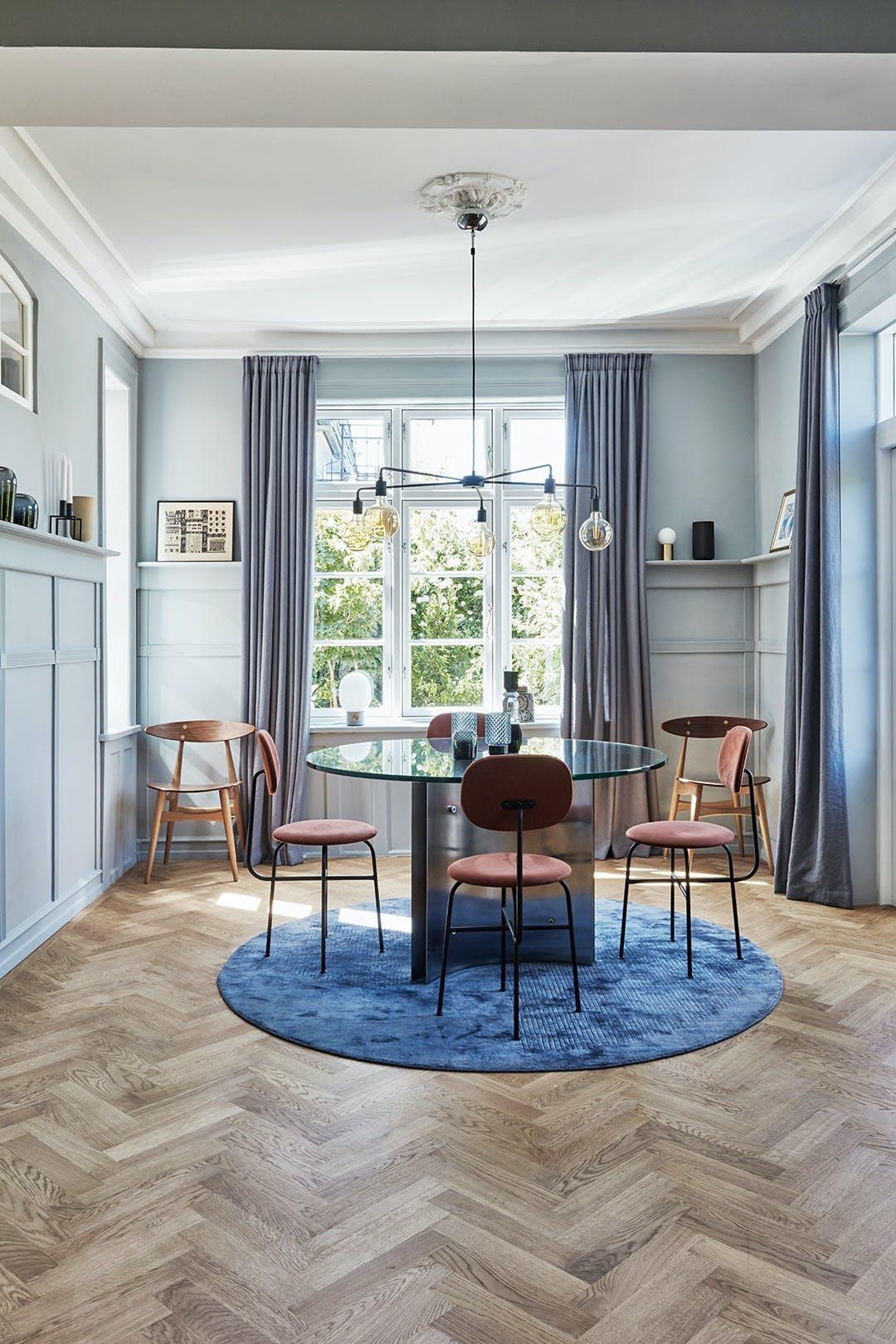 Spisestue sildebensmønster Menu pendel dansk design