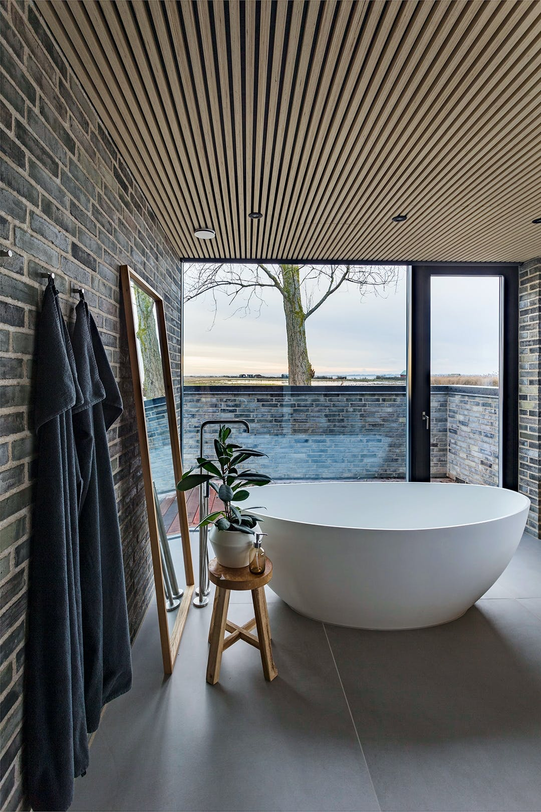 Sommerhus badeværelse badekar