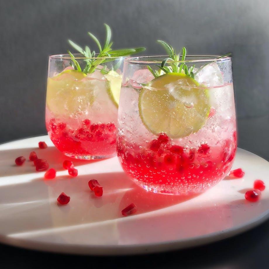 Granatæble Mocktail