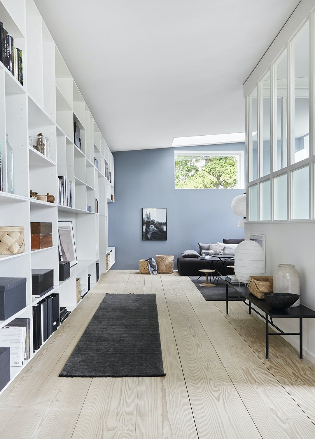 Stuen hjemme hos Lisbeth Kamstrup-Holm