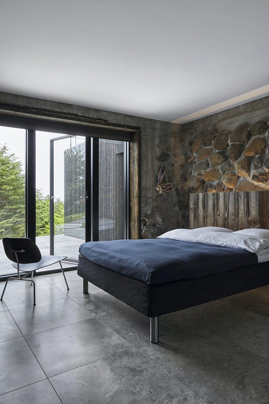 Gæsteværelset, solrig terrasse, færørene