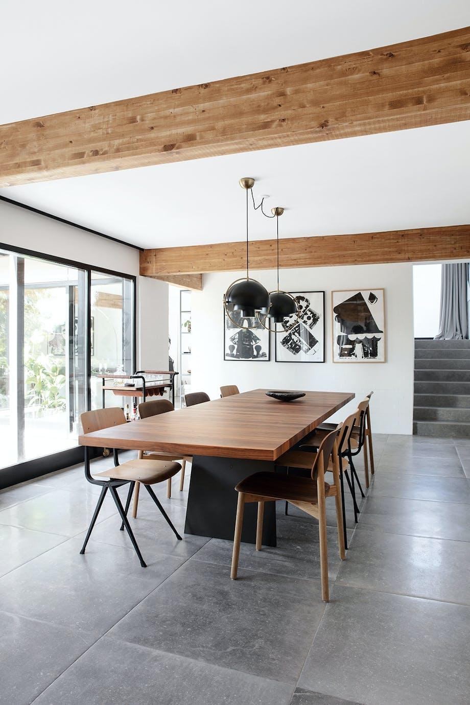 Spisestue spisebord spisebordsstol HAY Lamper fra Gubi Udtræksbord