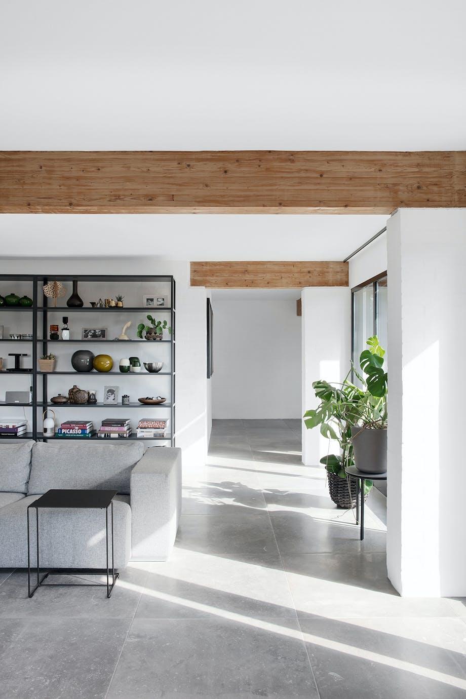 Køkken vinkelstue moderne sættekasse reol fra HAY
