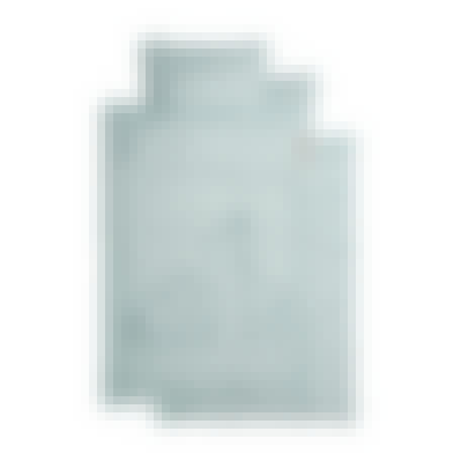 sengetøj lyseblå økologisk