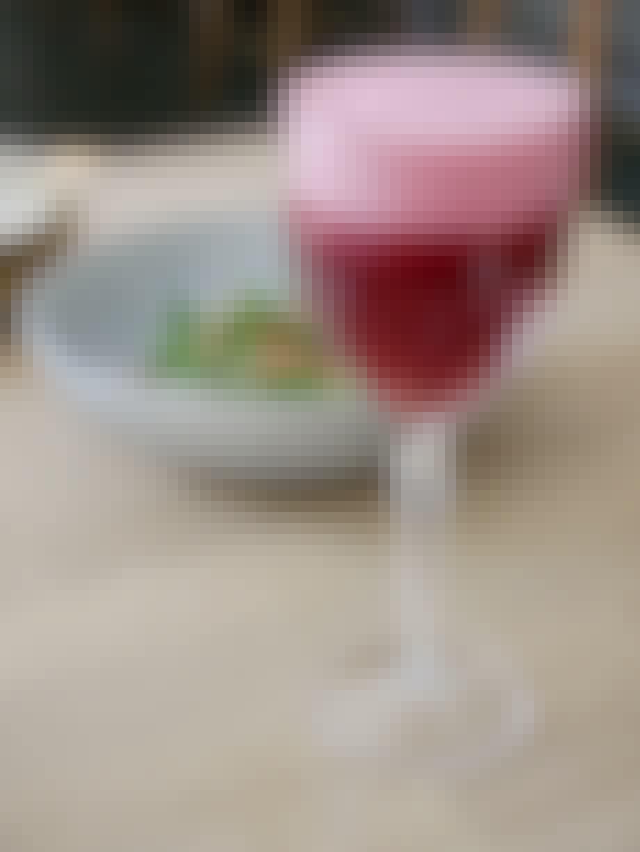 Hibiscus sour drink fra Cofoco