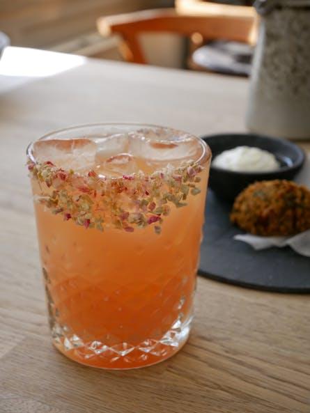 Pink grape & tequila drink Cofoco