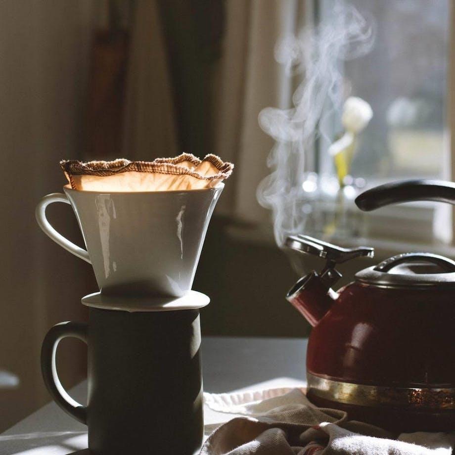 bæredygtig kaffefilter genanvendelig kaffe