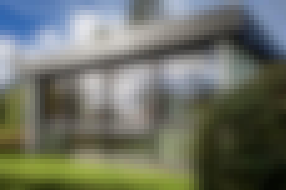 Kastholms hus 60'er villa have