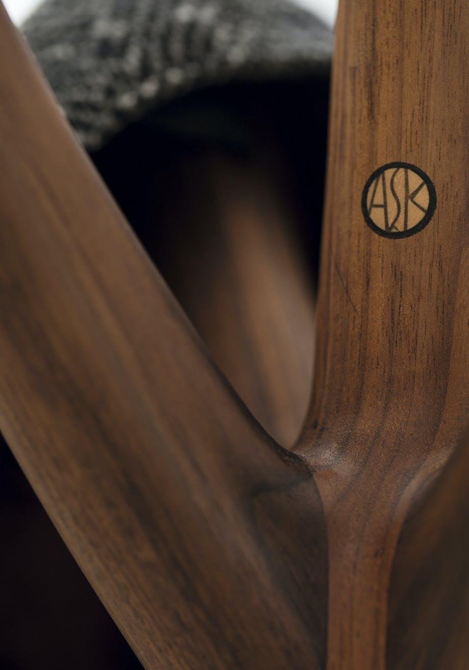 Logo i træ