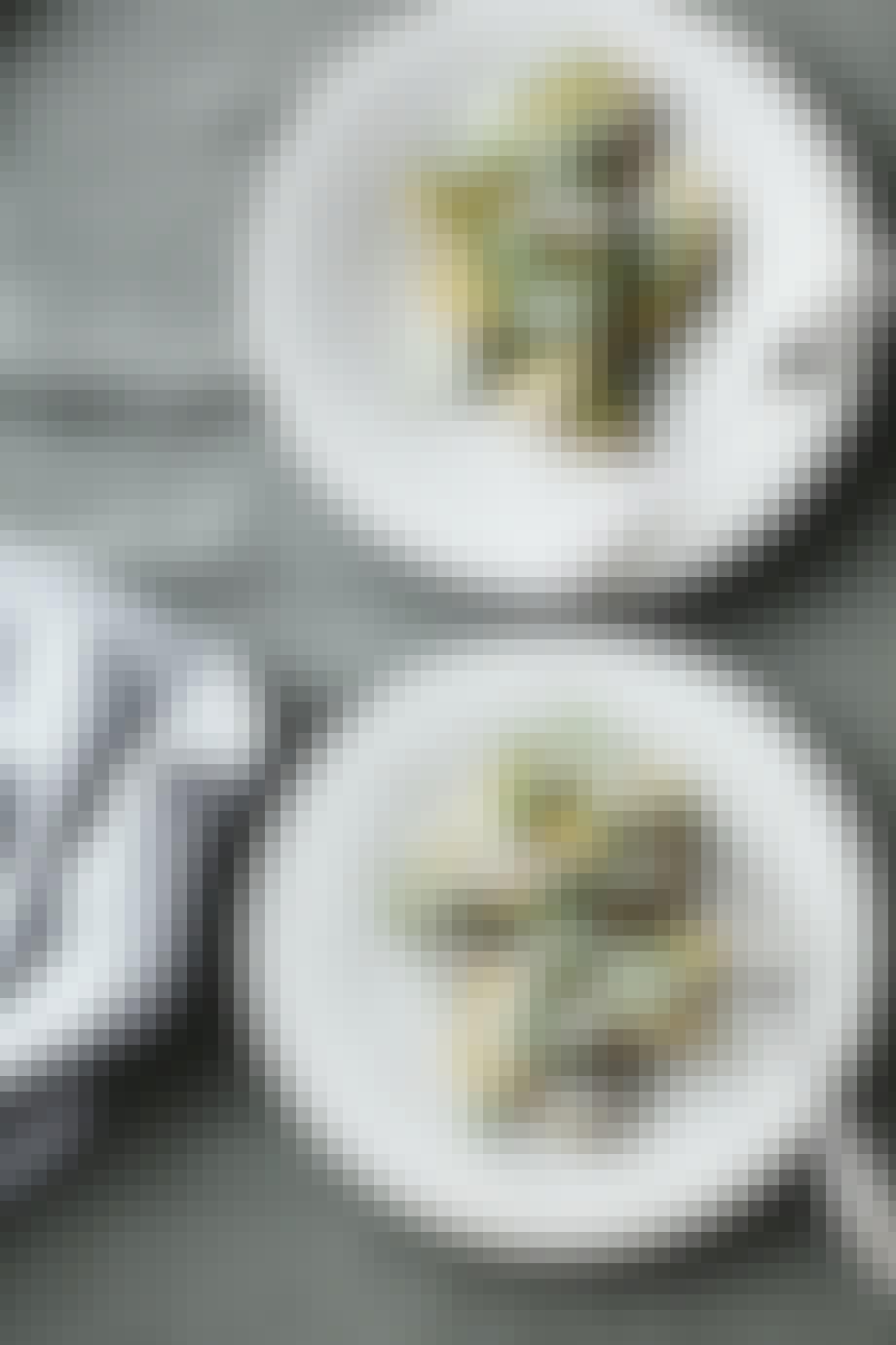 Grillet kartoffelsalat med sauce tartare krydderurter