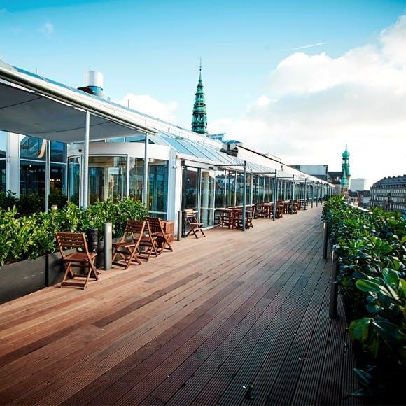 Illum rooftop tagterrasse
