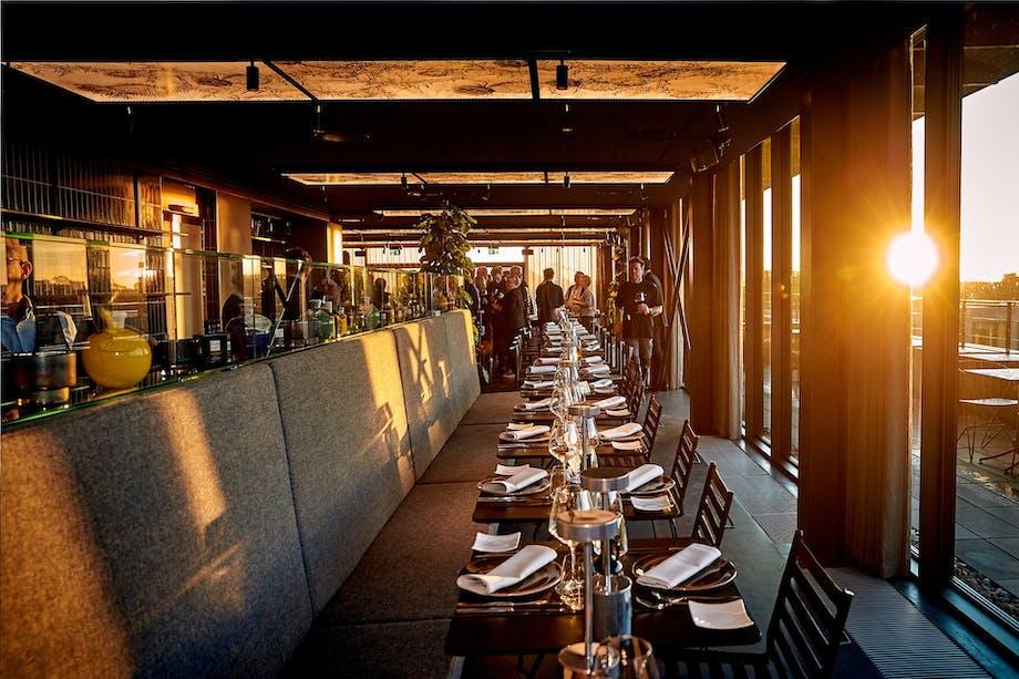 tagterrasse restaurant carlsberg byen