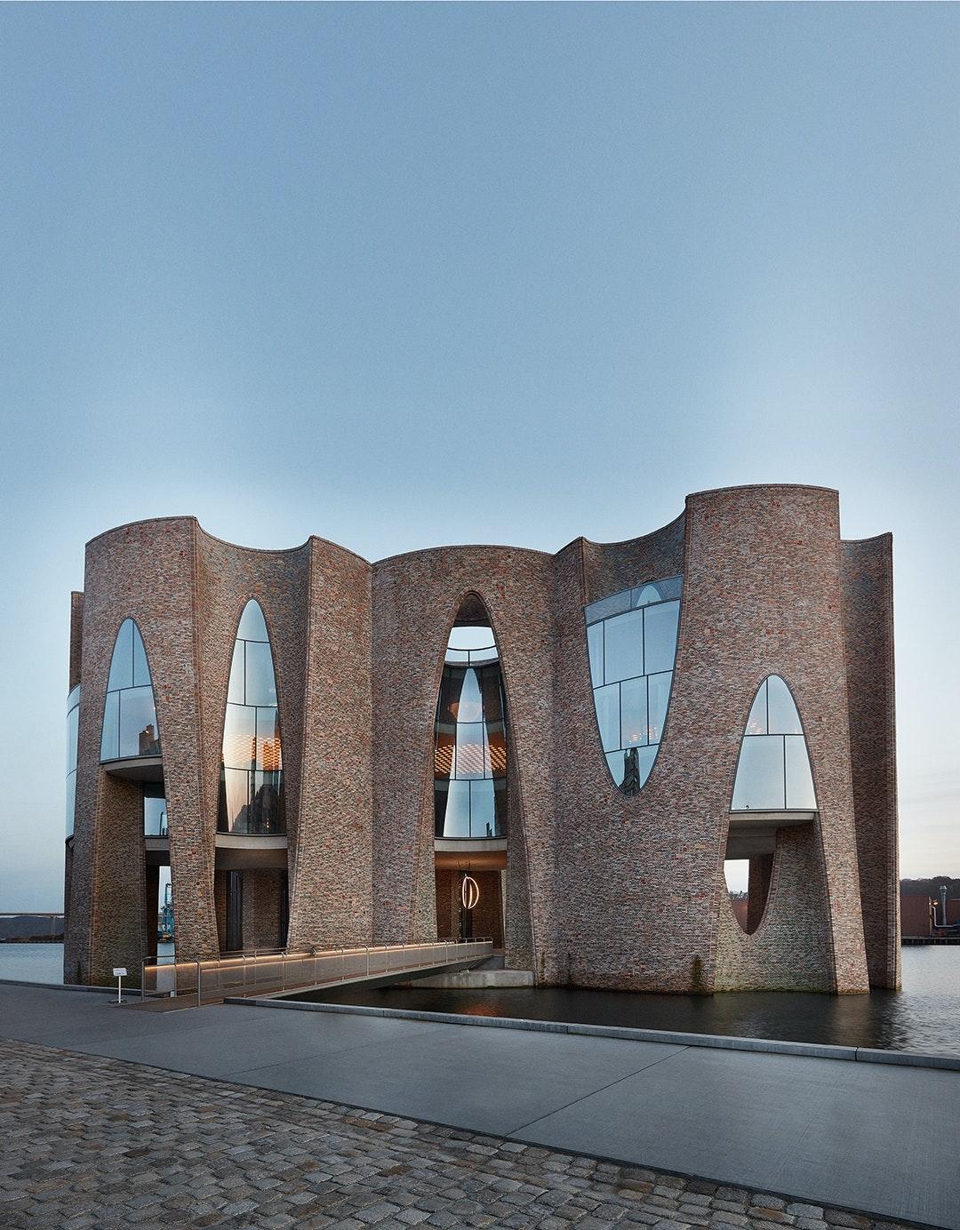 Fjordenhus Vejle Olafur Elliasson ikonisk byggeri