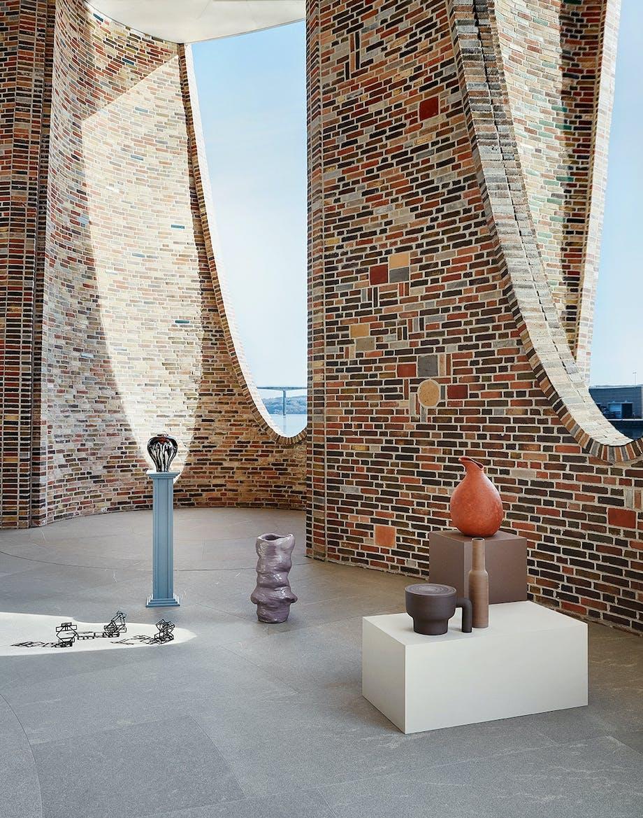 Fjordenhus Vejle Fjord Olafur Eliasson Keramik murstensværk