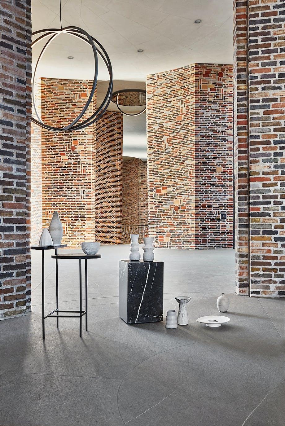 Fjordenhus Vejle Fjord Olafur Eliasson Keramik marmor murstensværk