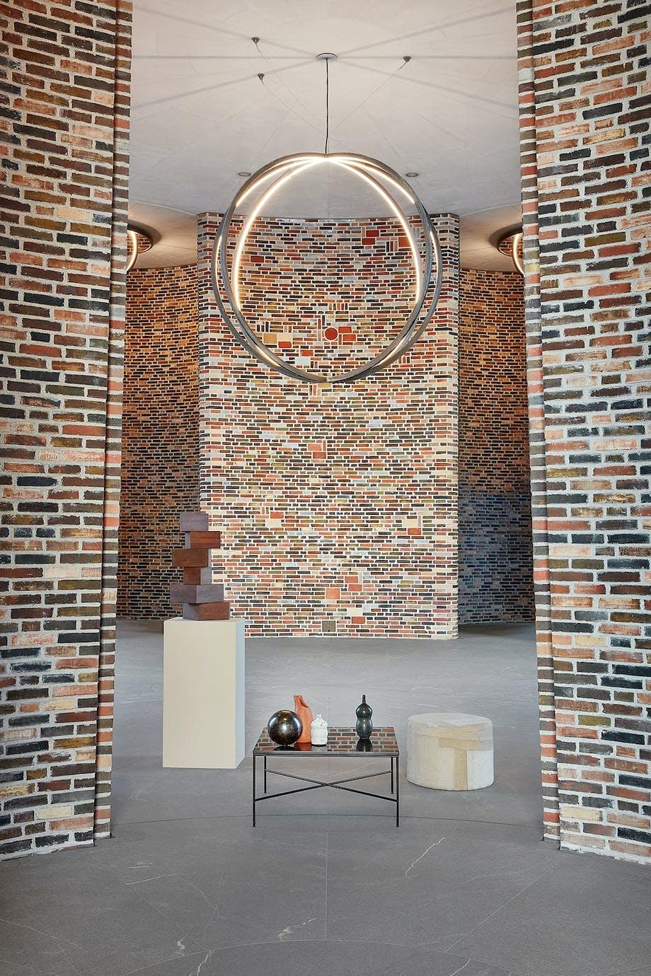 Fjordenhus stueetage Vejle Olafur Elliason bygningsværk mursten keramik