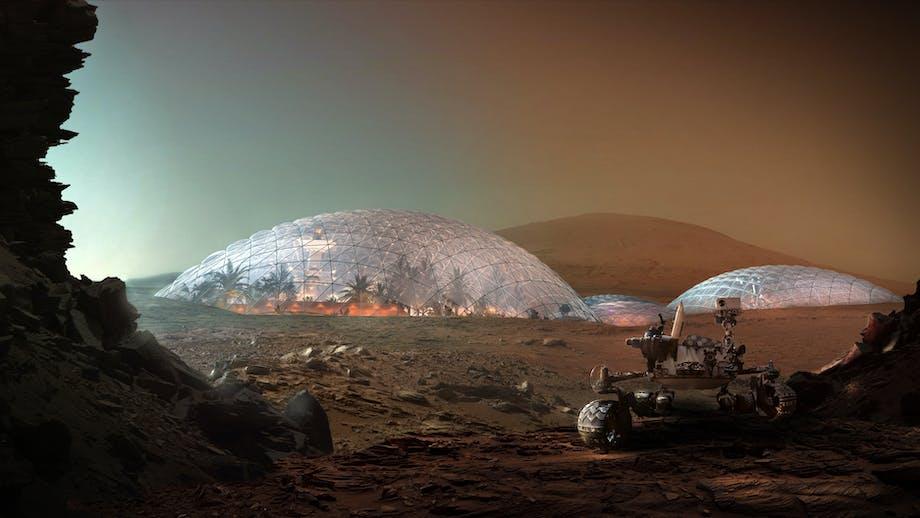 Boliger på Mars BIG Bjarke Ingels arkitektur