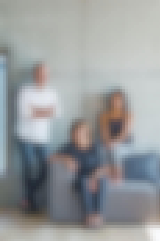 Arkitektfamilien Frederiksen sofafra HAY