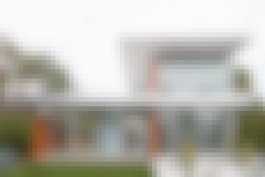 Californisk villa med dansk design