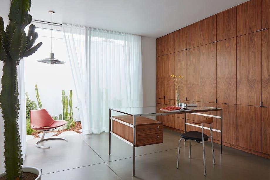 Hjemmekontor med Wegner skrivebord