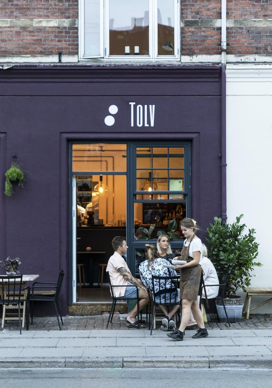 Restaurant Tolv servering