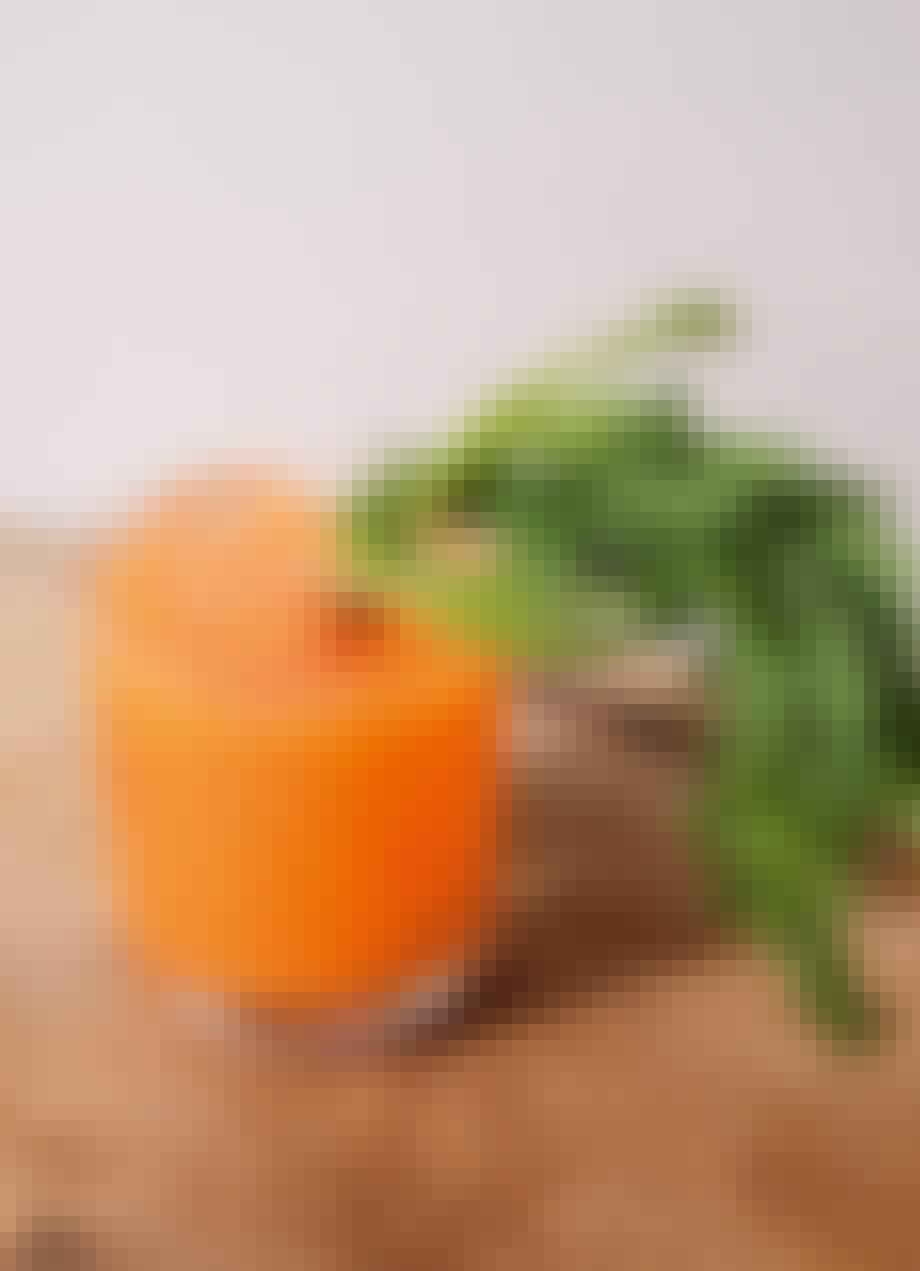 Cocktail med gulerod